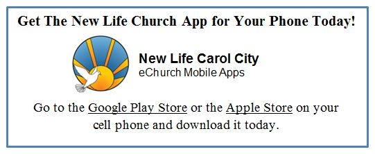 New Life Mobile App
